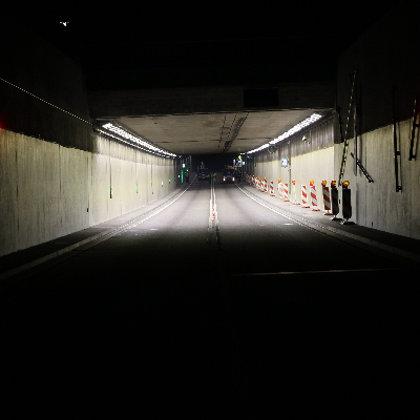 Tunnel Neckartailfingen (D) 220 LED Tunnelleuchten